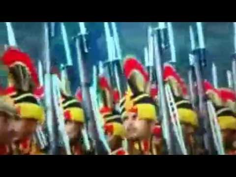 Delhi Police at 65th Republic Day parade 2014   YouTube