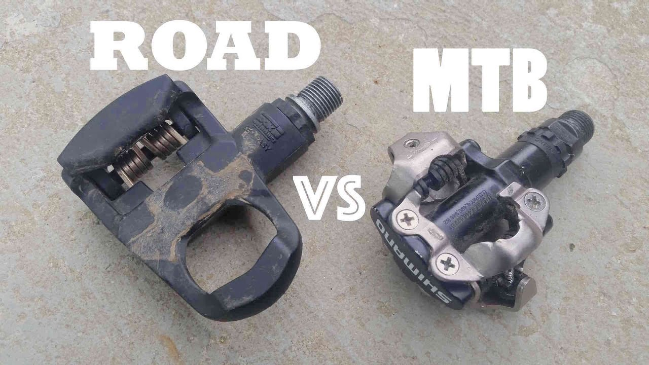 Clipless Pedals Road Vs Mtb Which Is Better Youtube