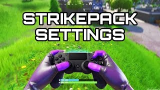 Fortnite Strike Pack Settings