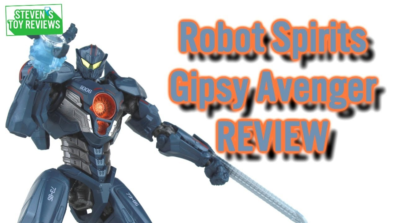 Robot Spirits Gipsy Avenger Pacific Rim Uprising Action Figure Review