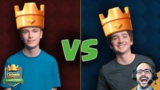 Clash Royale: B-rad vs Ah Craaaap - Learn to Play Like the Pros