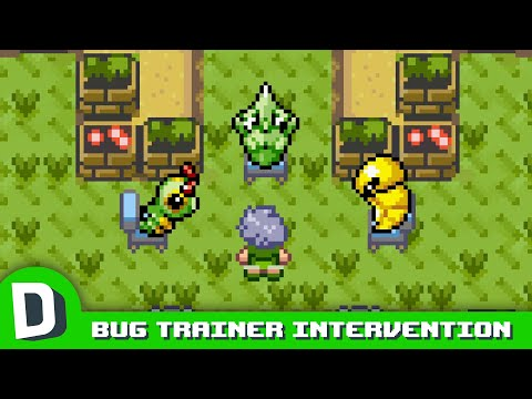 Pokemon Bug Trainer Intervention