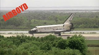 Space Shuttle Discovery Landing (STS-119)