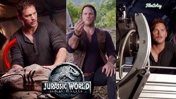 Jurassic World 2: Fallen Kingdom Bloopers, B-Roll, & Behind the Scenes - 2018