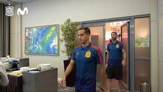 Última comida de la Selección española antes del partido ante Irán
