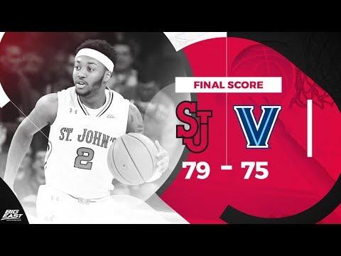#BIGEASThoops Highlights: #1 Villanova vs. St. John's