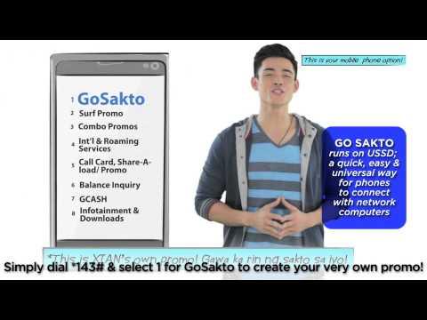 Globe Prepaid GoSakto: Create Your Own Promo