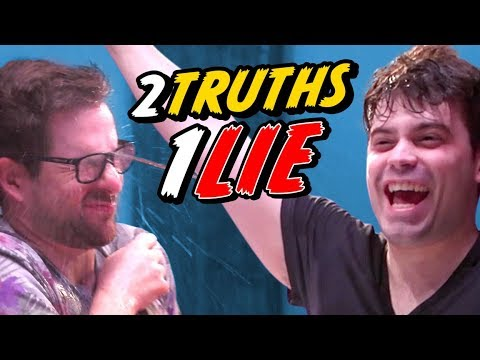 NERD SHOWDOWN W/ IAN & DAMIEN – 2 TRUTHS 1 LIE