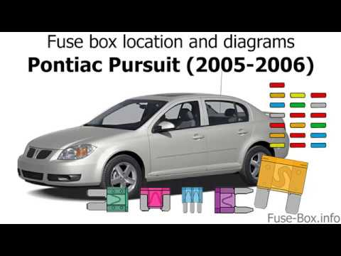 Fuse box location and diagrams: Pontiac Pursuit (2005-2006) - YouTubeYouTube