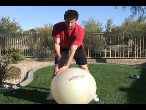 Golf Exercise Ball Training Tips – Mike Pedersen Trainer