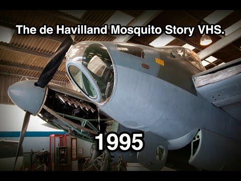 The de Havilland Mosquito Story VHS, 1995