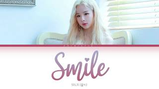 SOLJI (솔지) – SMILE (미소) [Color Coded Lyrics HAN/ROM/ENG]