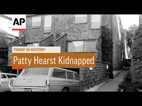 Patty Hearst Kidnapped  1974  Today In History  4 Feb 17