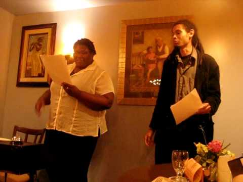 06-04-09 - Blend at the Blue Banana - Tamara Oakman and Quincy Scott Jones