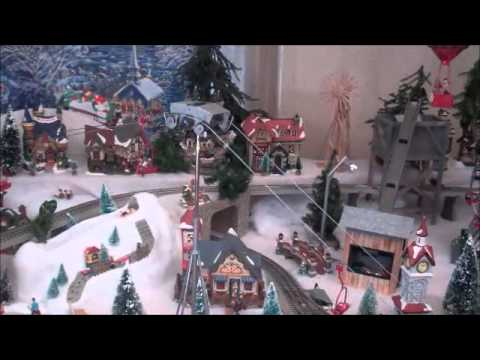 christmas village 2010 ski lift youtube