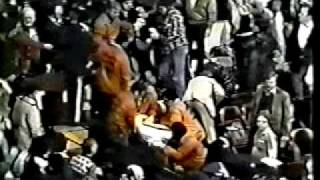Chicago Stadium Fight in Stands 1982