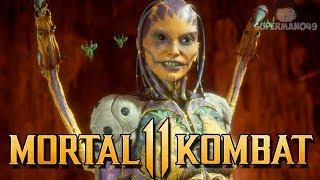"""Nice 50% Combo With D'Vorah! - Mortal Kombat 11: """"D'vorah"""" Gameplay"""