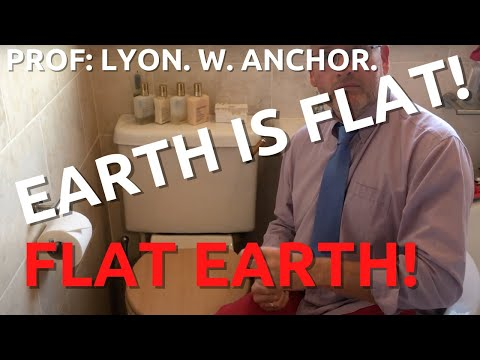 Proof the Earth is flat!.... Prof Lyon W Anchor. thumbnail