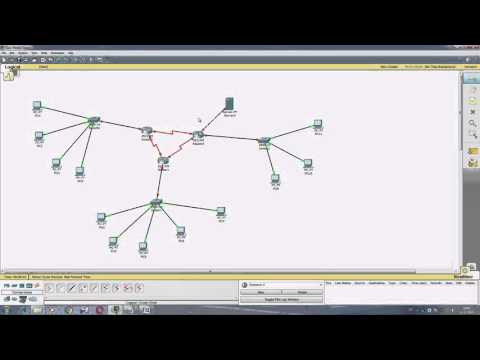 Создание и настройка сети с роутерами в Cisco Packet Tracer