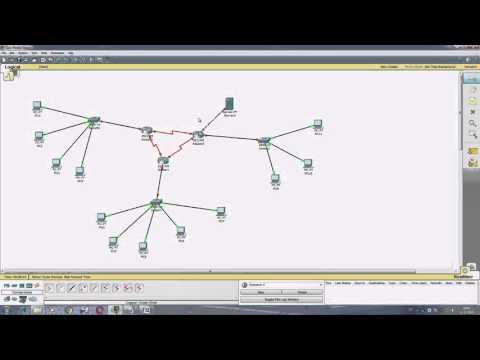 Создание и настройка сети с роутерами в Cisco Packet Tracer