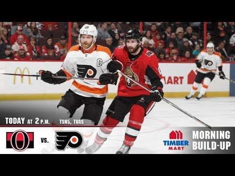 NHL 18 PS4. REGULAR SEASON 2017-2018: Philadelphia FLYERS VS Ottawa SENATORS. 02.24.2018. (NBCSN) !