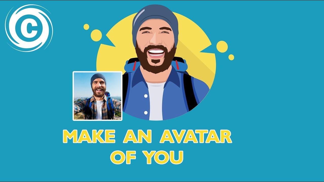 how to designing a flat avatar flat icon adobe illustrator