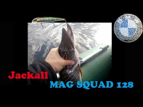 Ловля Щуки на Днепре\Черкассы \ Воблер Jackall mag squad 115 SP .