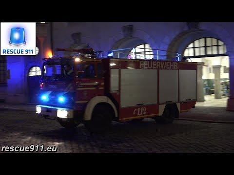 ELW + 2x HLF + SLF BF München FW 1