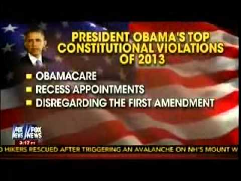 Video: Obama's Top Constitutional Violations Of 2013