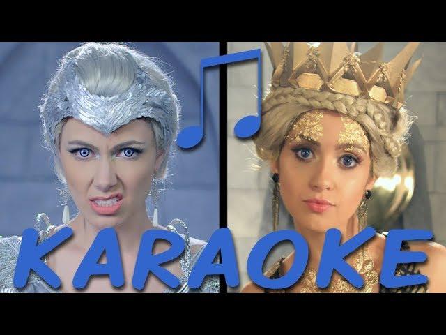 FREYA vs RAVENNA Karaoke (Princess Rap Battle) Instrumental Sing-along