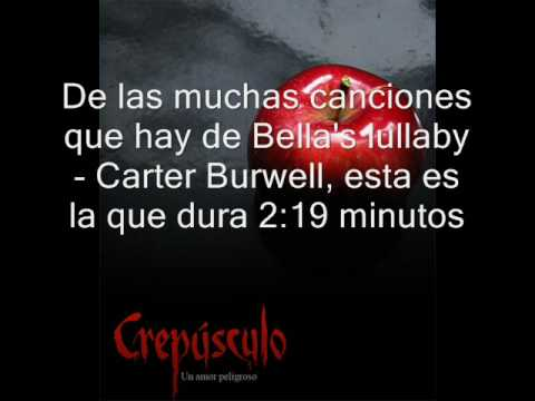la cancion VERDADERA de crepusculo nana Edward,Original song of Edward piano