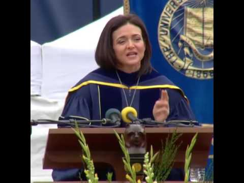 Sheryl Sandberg Speaks at UC Berkeley Commencement