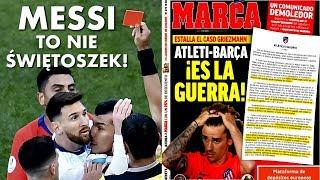 MESSI to nie świętoszek! Barcelona vs Atletico, czyli wojna o GRIEZMANNA!