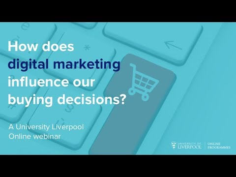Webinar: Does digital marketing influence purchase intention?