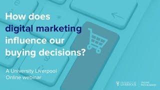 Webinar: Does digital marketing influence purchase intention?