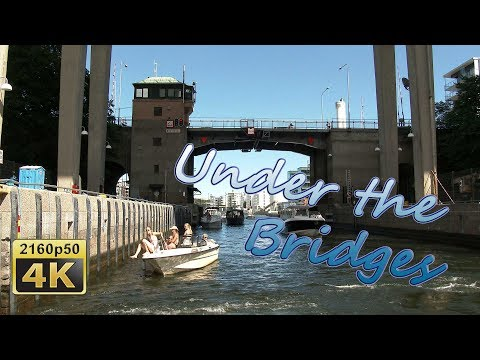 Under the Bridges of Stockholm - Sweden 4K Travel Channel