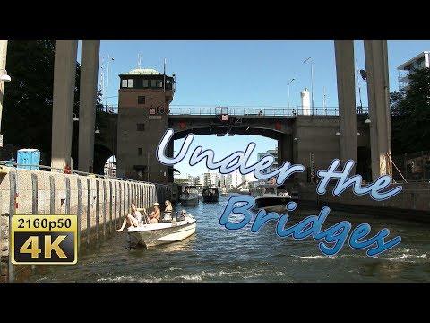 Under the Bridges of Stockholm - Sweden 4K Travel Channel