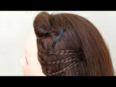 HOW TO MAKE NEW SIDE PUFF HAIRSTYLE || HAIRSTYLE FOR GIRLS thumbnail