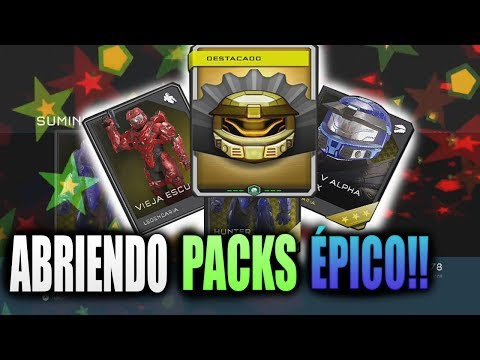 ABRIENDO PACKS LEGENDARIOS! | REACCIÓN ÉPICA! | HALO 5