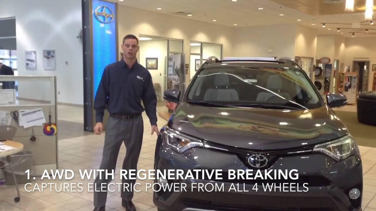 Lovely Crown Toyota Of Lawrence, KS: 2016 Rav4 Hybrid Features