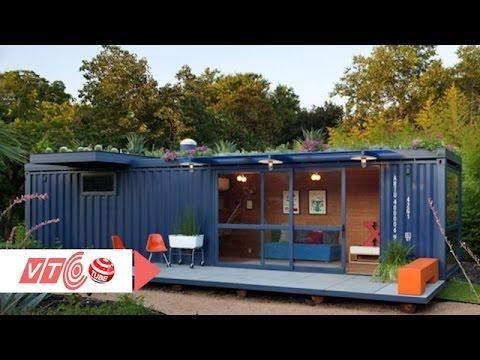 Nhà container tiện nghi cho người thu nhập thấp | VTC