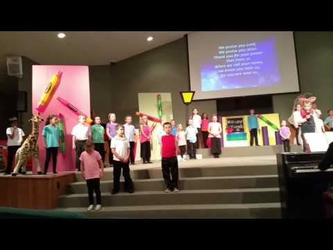 Central Baptist Christian School Kindergarten Graduation Program 2016