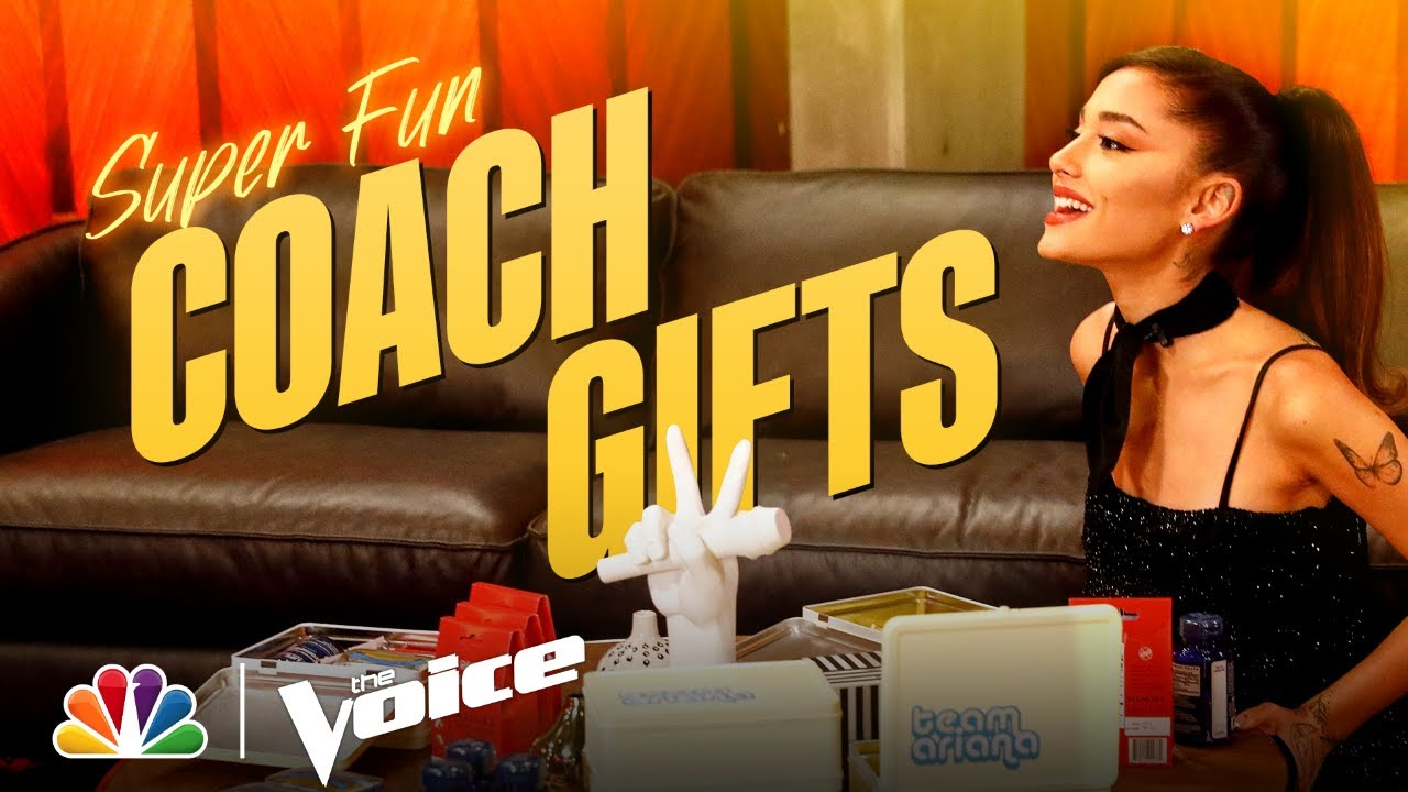 Download Kelly, Ariana, John and Blake Show Off Their Coach Gifts | The Voice 2021