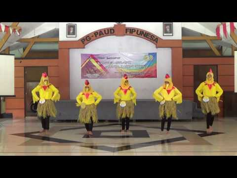 Tari Ayam Untuk Anak (PGPAUD UNESA)