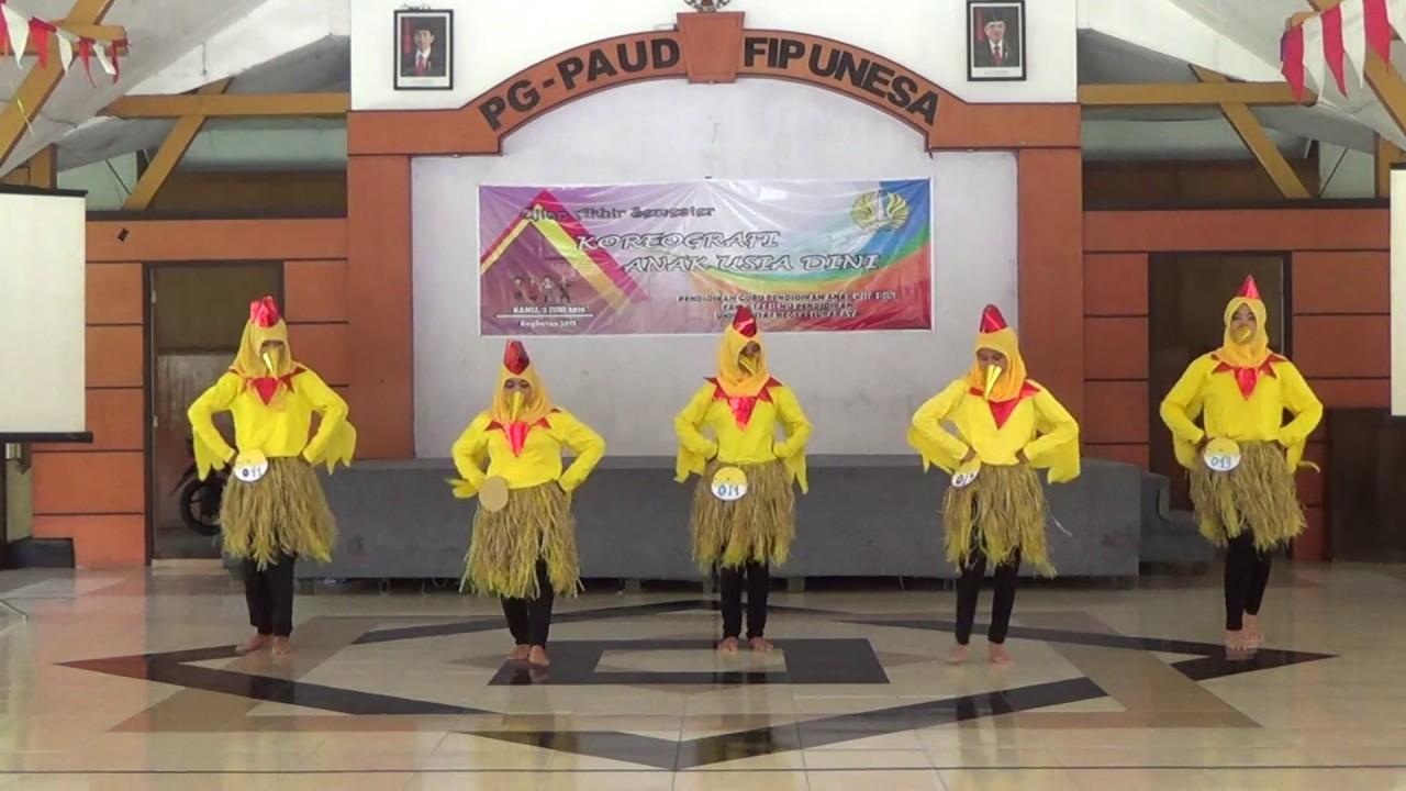 Tari Ayam Untuk Anak PGPAUD UNESA