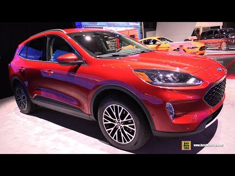 2020 Ford Escape SEL - Exterior and Interior Walkaround - Debut at 2019 NY Auto Show