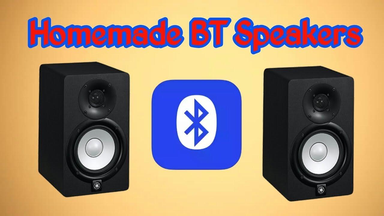 Homemade bluetooth portable mini speakers very easily DIY ...