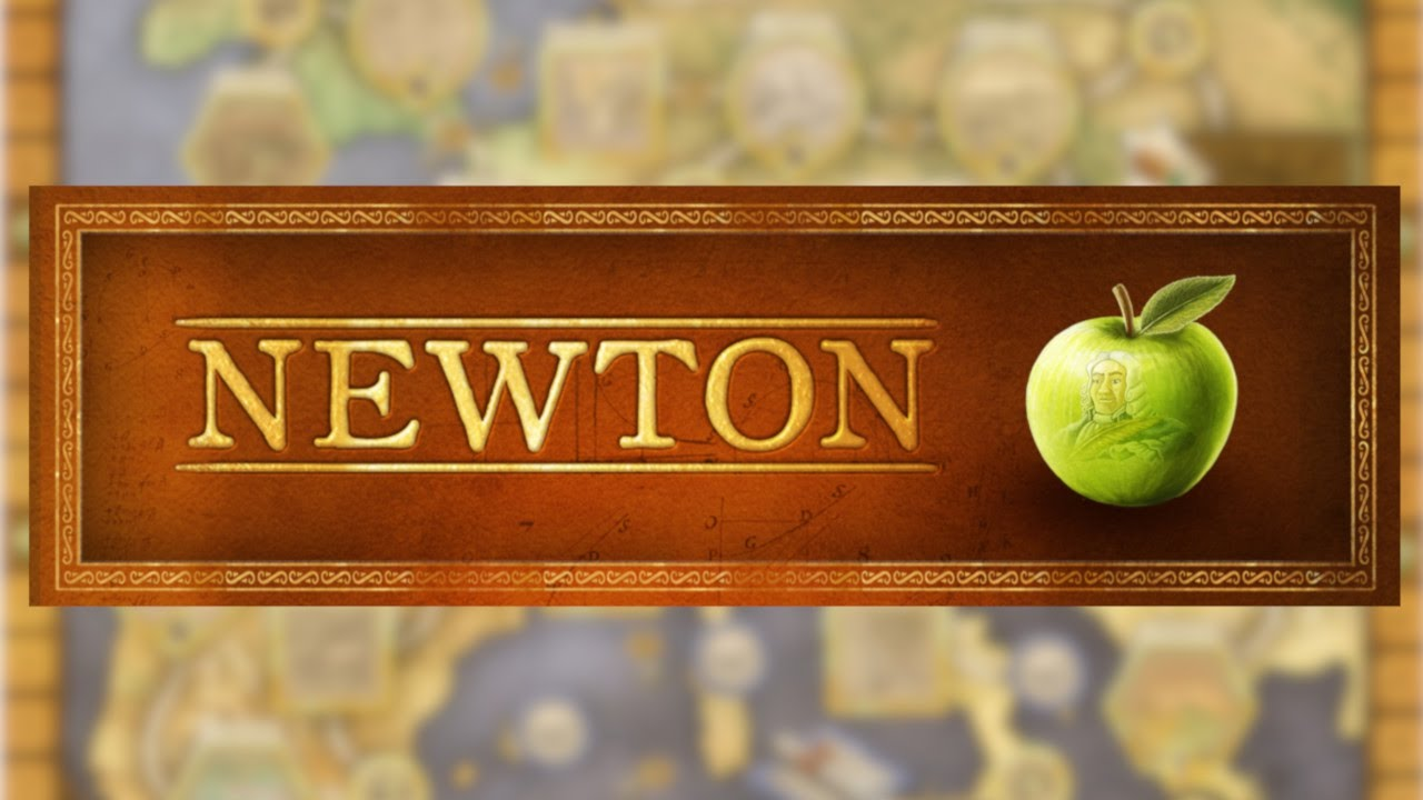 NEWTON | Boardgame Preview | Cranio Creations - YouTube