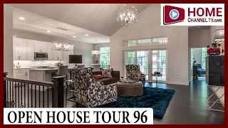 Open House Tour 96 - Open Concept Ranch Home Design by Plote Homes