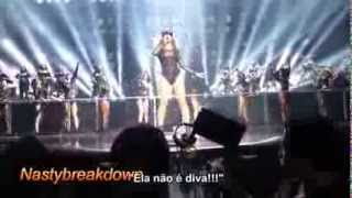 Beyoncé - Diva   Bow Down (Legendado)   Tom Ford feat. Jay Z - Mrs Carter Tour Brooklyn HD